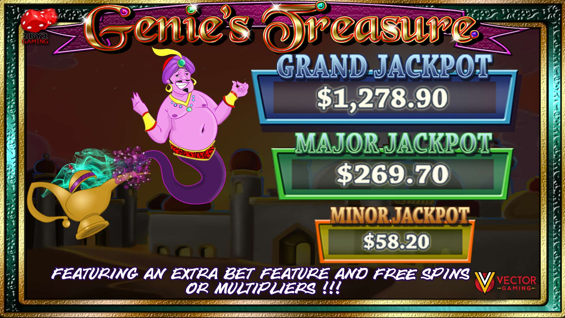 Genie's Treasure (Progressive)